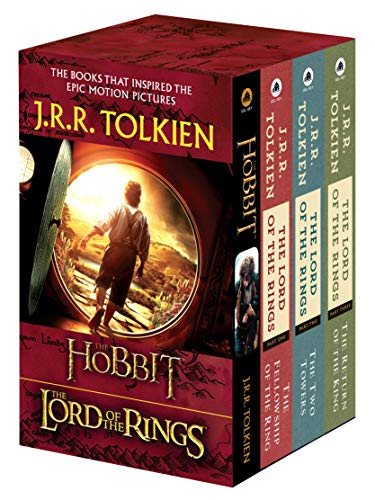 J.R.R. Tolkien 4-Book Boxed Set: the Hobbit and the Lord of: The Hobbit, the Fellowship of the Ring, the Two Towers, the Return of the King