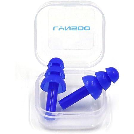 Earplugs Noise Reduction Silicone Soft Ear Plugs PVC Rope Earplugs Protective ZB