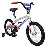 APOLLO Flipside 18 inch Kid's Bicycle, Silver