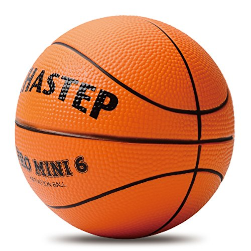 Chastep Pelota de baloncesto de 15,2 cm de espuma para niños, suave y hinchable, segura para jugar en interiores y exteriores (naranja)