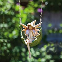 Evergreen Garden Petal Fairies Pensive Pixie Hanging Statuary