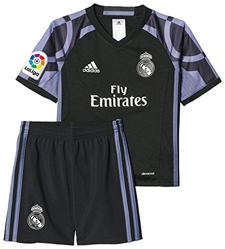 adidas Kinder Real Madrid Mini-Ausweichausrüstung Fußballtrikot, Onix/Night Flash S15 / White, 152