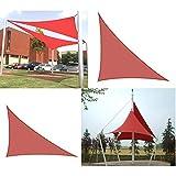 OZYN Toldo Vela De Sombra, Triangular Protección Rayos UV 90% Protección Solar Impermeable A Prueba De Viento (Size : 4x4x5.7m)