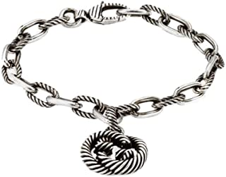 Bracciale interlocking g in argento YBA607158001017