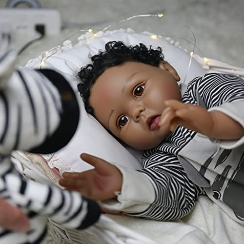 African american silicone baby boy _image0
