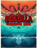 Godzilla Colouring Book: Color Wonder Godzilla Colouring Book Pages & Markers, Mess Free Colouring, Wonderful Gift for Kids And Adults