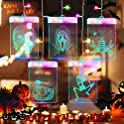 Jhua 3D LED Halloween Fairy Hanging Lights