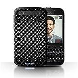 Stuff4 Hülle/Hülle für BlackBerry Classic/Q20 / Grau