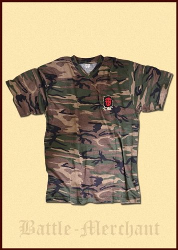 Che guevara-t-shirt, camouflage, brodé, taille xL
