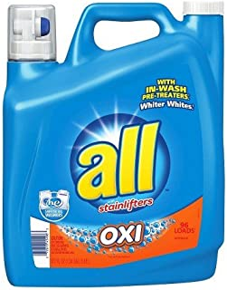 All With Oxi Liquid Laundry Detergent 162 Oz