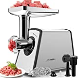 Meat Grinder Electric, Sausage Stuffer Maker, Max 2600W Food...