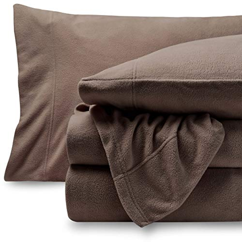 Bare Home Super Soft Fleece Sheet Set - Queen Size - Extra Plush Polar ...