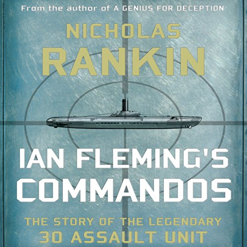 Ian Fleming's Commandos audiobook cover art