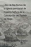 Libro de Bautismos de la iglesia parroquial de Nuestra Señora de la Concepción del Realejo de Abajo: libro V: 1696 a 1723 y Libro VI: 1723 a 1735.