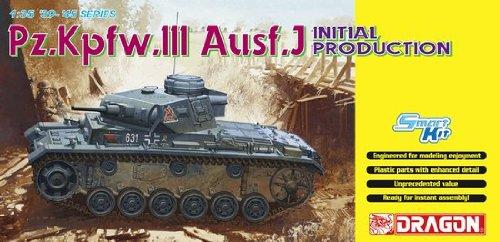 Dragon 1/35 Panzer III Ausf.J, Initial Production Smart Kit