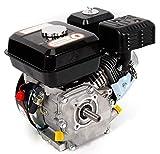OUBAYLEW Motor de gasolina, Arranque de retroceso, 7,5 HP, 5.1 KW, Motor de Gasolina de un Solo Cilindro Refrigerado por Aire Accesorios de Motor de 4 Tiempos