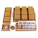Juegos de banca Montessori, Juguetes educativos de Madera de Aprendizaje de...