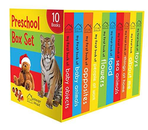 Preschool Box Set : 10 Board Books For Kids