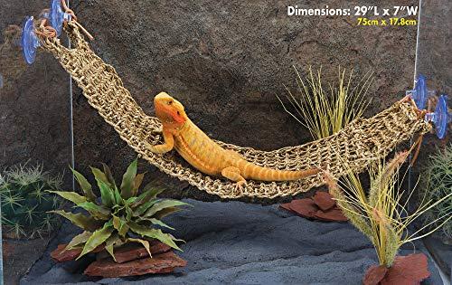 Penn-Plax Lizard Lounger, 29 x 7, X-Large (REP702), Brown