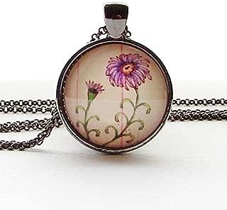 birth month flower necklace september