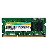 シリコンパワー ノートPC用メモリ 1.35V (低電圧) DDR3L 1600 PC3L-12800 4GB×1枚204Pin Mac 対応 永久保証 SP004GLSTU160N02 B00H4LDGSG