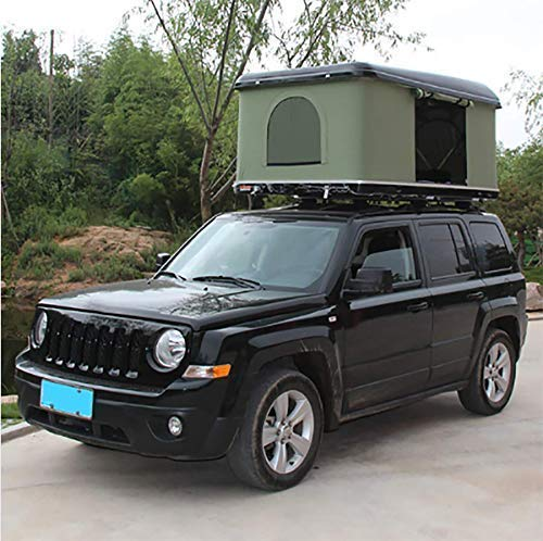 2-3 People Car Roof Tent Hard Shell Outdoors Hiking Equipment With Ladder