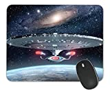Mouse Pads for Office and Home Computers, Star Trek Non-Slip Mouse Pads, Laptop Mouse Pads