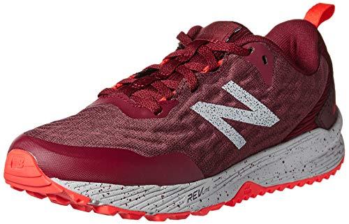 New Balance Trail Nitrel, Zapatillas de Running para Asfalto Mujer, Rojo (Red Red), 37 EU