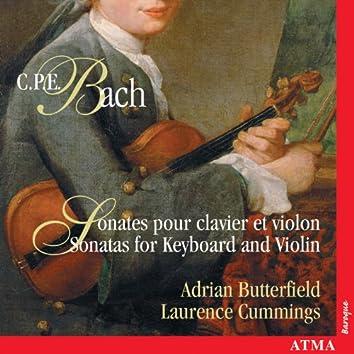 Bach, C.P.E.: Sonatas for Keyboard and Violin