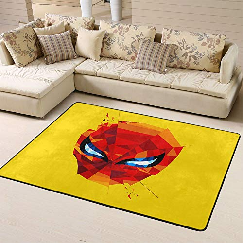 Zmacdk Spiderman Tapis d