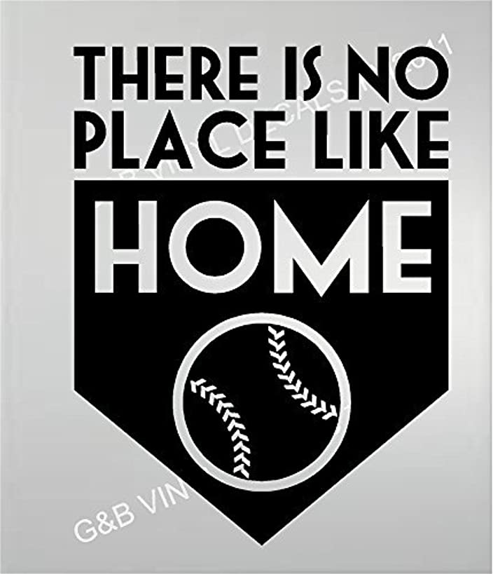 Baseball There Is No Place Like Home Vinyl Wall Decal 13