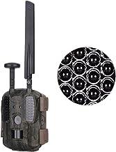 Hunting Camera 4G LTE (UMTS/HSPA + GSM/GPRS/EDGE) & GPS Hunting Camera, Wildlife Camera 12MP 1080P Full HD Trail cam, 52 Pcs IR LED Waterproof Infrared Game Cam