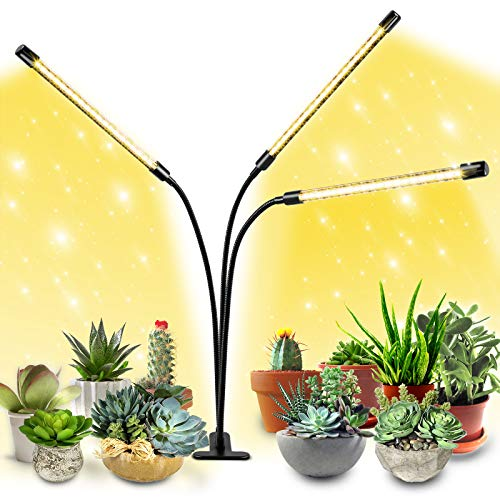 EZGARDEN Plant Grow Light,Plant Growing Lamp,LED Grow Lights for Office,House,Garden,Outdoor,Indoor Plants,Seeds,Succulents Plants Live,with Full Spectrum, 3 Switch Modes, 10 Dimmable Brightness