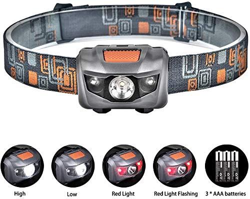 Linkax Linterna Frontal LED Linterna de Cabeza Super