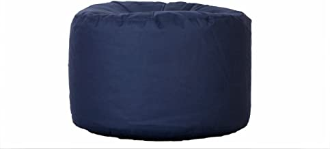 Comfy Corner Puffs - Size Large - Filled with Bean Filler (Indigo)