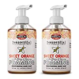 Beessential All Natural Foaming Hand Soap, Orange Essential Oils, Made with Moisturizing Aloe &...
