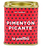 LA PASTORA | Producto Gourmet | Pimentón Picante | 75 gr. | 100% Natural | Pimentón en Polvo | Potente Antioxidante | Apto Para Celíacos | Condimenta Tus Comidas | Pimentón Español