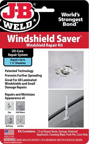 J-B Weld 2100 Windshield Saver Repair Kit, 2 fl. oz