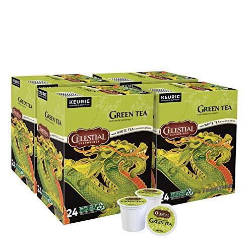 Celestial Seasonings Green Tea, Single-Serve Keurig K-Cup Pods, 96 Count
