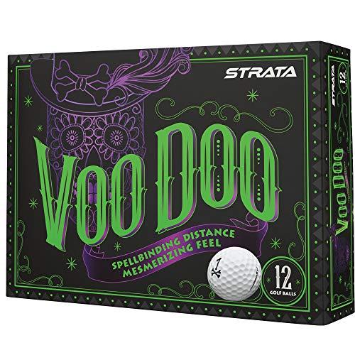 Strata 2018 Voodoo Golf Balls (One Dozen) -  Callaway Golf, 612495412