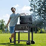 Zoom IMG-1 tectake bbq barbecue a carbonella