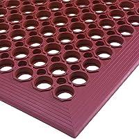 Aviditi MAT225TC Slip Resistant Drainage Mats 1/2 Terra Cotta [並行輸入品]