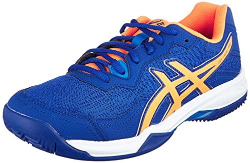 ASICS Gel-Padel Pro 4, Zapatillas de Running Hombre, Monaco Blue Orange Pop, 42.5 EU