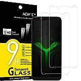 NEW'C 2 Unidades, Protector de Pantalla para Xiaomi Black Shark Helo, Antiarañazos, Antihuellas, Sin Burbujas, Dureza 9H, 0.33 mm Ultra Transparente, Vidrio Templado Ultra Resistente