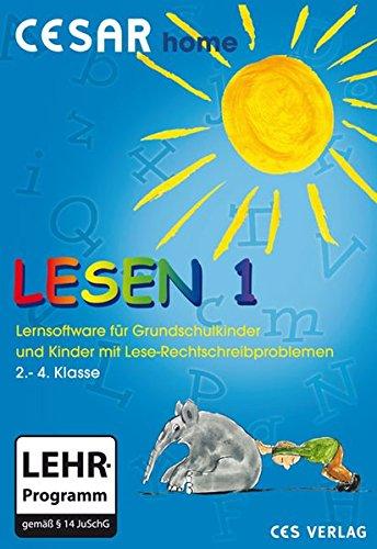 CESAR home Lesen 1: Lernspiele zum Lese-Rechtschreiberwerb