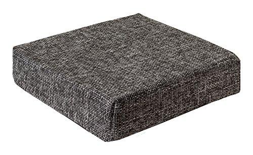 Trend Kissen Sitzblock Bodenkissen Stuhlkissen Sitzerhöhung orthopädisch 40x40x10 cm Anthrazit