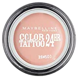 Maybelline New York Color Tattoo Ombre à Paupières Rose 91 Crème de Rose