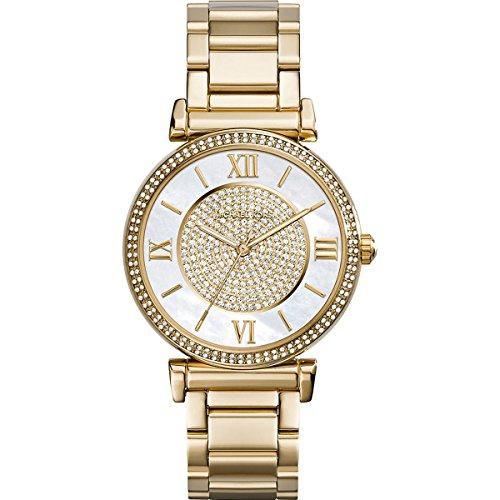 Michael Kors Reloj Analógico para Mujer de Cuarzo con Correa en Acero Inoxidable MK3332