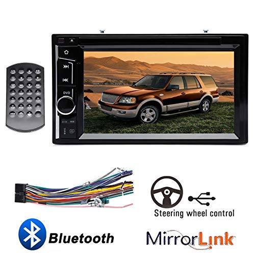 """6.2"""" Touch Screen Car Radio Stereo Double 2Din in Dash for Ford Expedition 2003 2004 2005 2006 DVD CD Player Support Bluetooth Mirror Link Steering Wheel Control"""