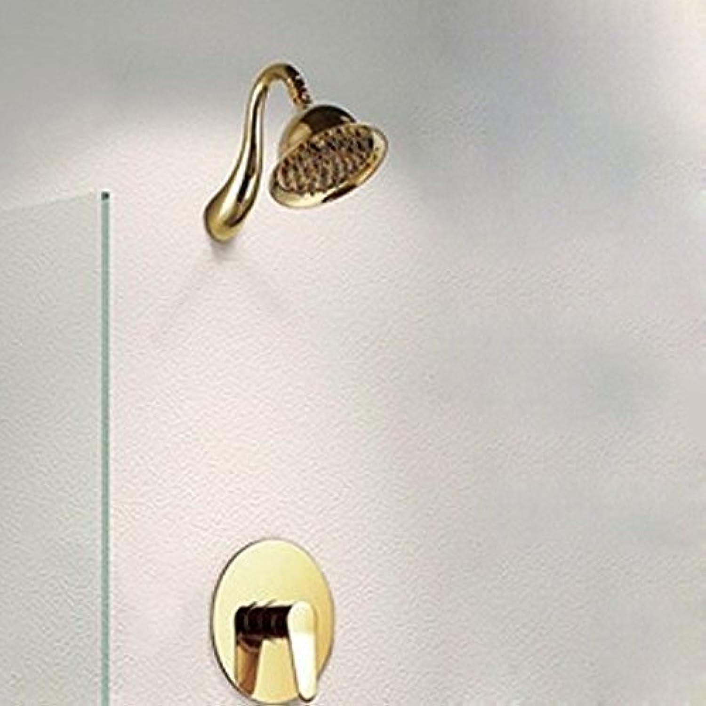 All Europeans of Shower Shower Dark Costume Sprinkler Copper Cold Tap Thermostat